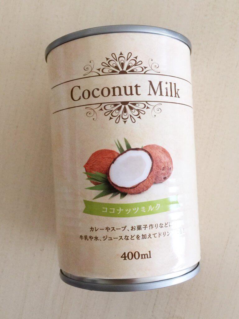 タピオカココナッツミルク ココナッツミルク缶