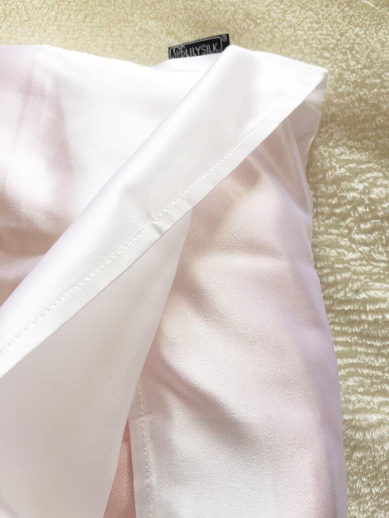 リリーシルク Lily Silk シルク枕カバー ブログ レビュー レポ くちこみ