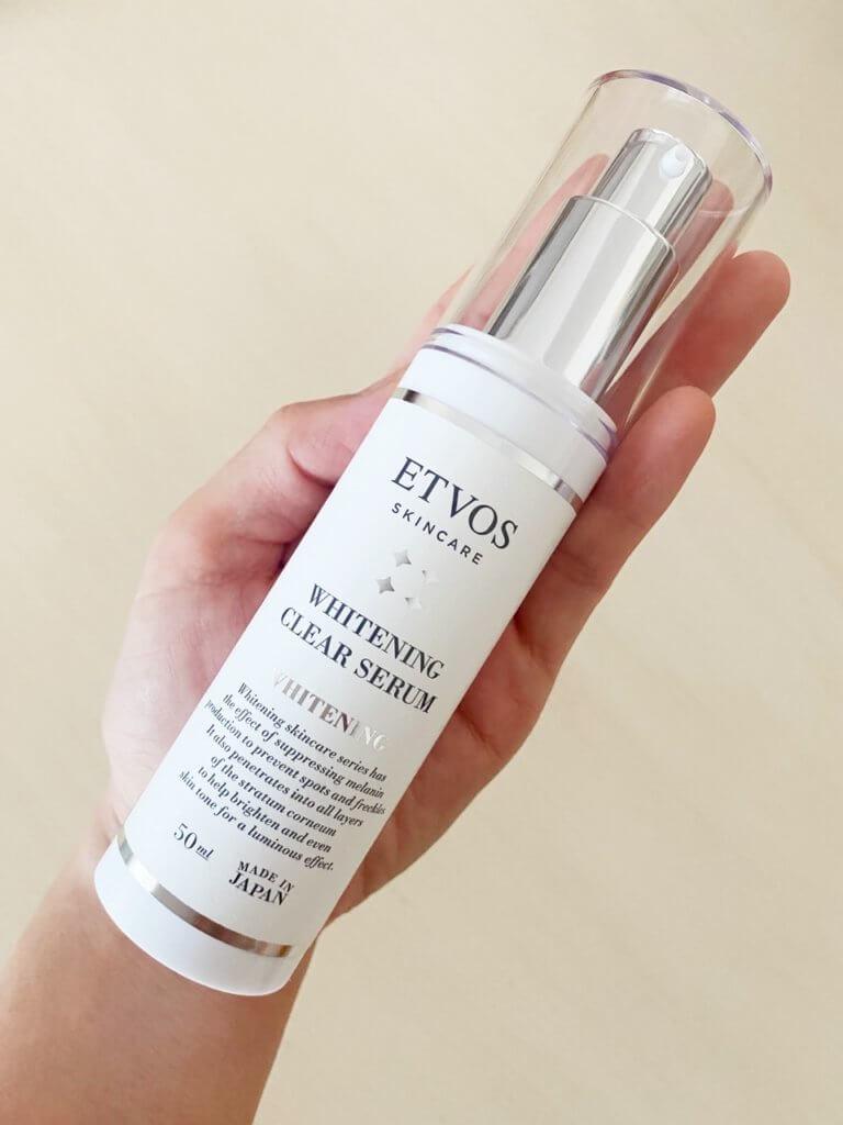 エトヴォス etvos 薬用 ホワイトニングクリアセラム ldk くちこみ レビュー ブログ